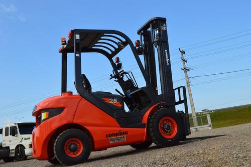 Empilhadeira Lonking Fd25 Nova Diesel, 2,5 Ton, Torre Padrão
