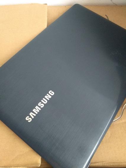 Carcaça De Note Samsung Np270e5g Com Tampa+moldura+tela 15.6