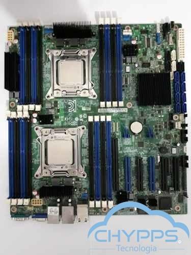 Placa Mãe Intel S2600cp Dual Xeon E5-2670v1 + 16 Ram Frete