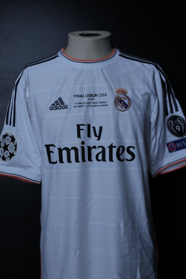 Camisa Real Madrid 2013/2014 #22 Di Maria - Final Champions