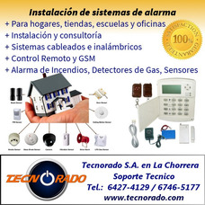 Instalamos Sistemas De Alarma Para Hogares En Panama