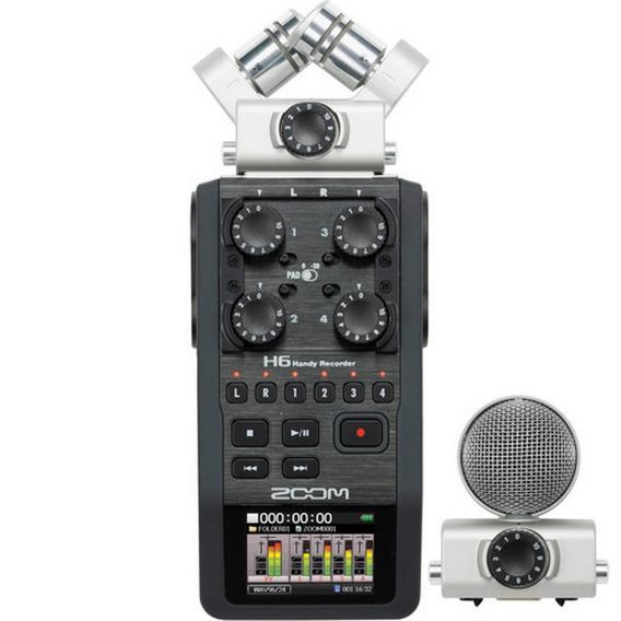 Gravador Digital Zoom H6 - Loja Platinum