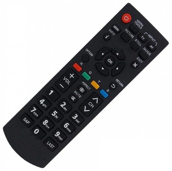 Controle Remoto P/ Tv Lcd Led Panasonic Tnq2b3901 Tc-l24xm6b