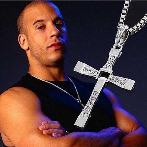 Velozes E Furiosos Crucifixo Com Cordão Vin Diesel - Toretto