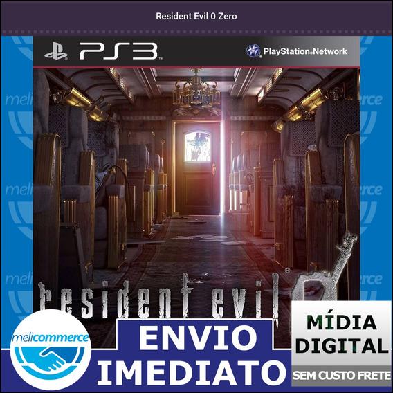 Resident Evil 0 Zero Digital Psn Envio Imediato