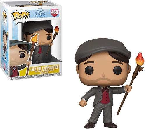 Muñeco Funko Pop Jack Lamplighter Poppins Rdf1