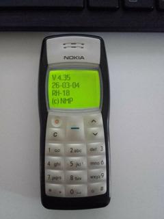 Celular Nokia 1100 Usado Roto Para Repuestos.