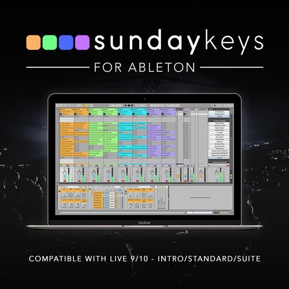 Sunday Keys Para Ableton Live - Worship