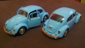 Miniatura Fusca 67 Escala 1:32 Em Metal New Beetle