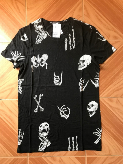 Playera Esqueleto Cuerpo