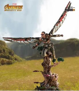 Iron Studios Avengers Diorama Series Falcon