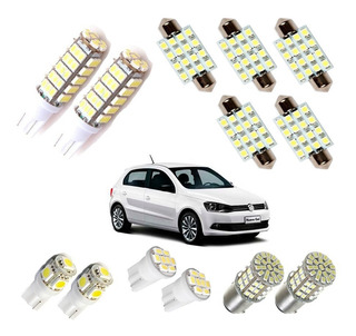 Kit Super Led Completo Gol Voyage Saveiro Parati G4 G5 G6 G7