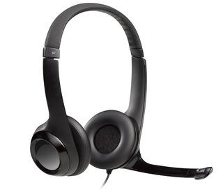 Audifono Microfono Logitech H390 Usb Clearchat Confort