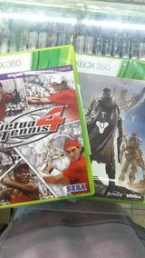 Virtua Tenis4 + Destiny Brinde Xbox 360 Midia Física