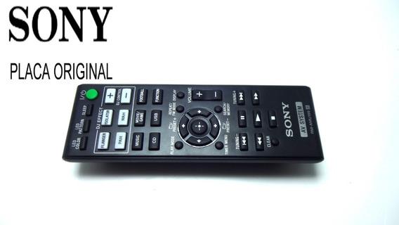 Controle Remoto Rm-amu199 System Sony Original Semi Novo