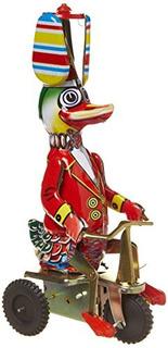 Schylling Windup Duck En Bicicleta
