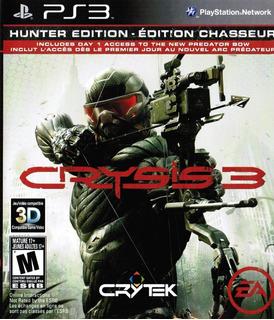 Crysis 3 Hunter Edition Ps3 Juego Cd Original Físico Sellado