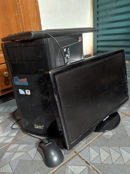 Computador Positivo Sim+ 3d (mais Acessórios)