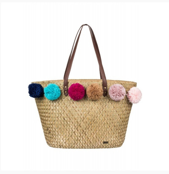 Bolso Playero Roxy Pretty Love 3191130009 Cbe Rv