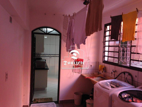 Sobrado Com 4 Dormitórios À Venda, 369 M² Por R$ 848.000,00 - Parque Erasmo Assunção - Santo André/sp - So2603