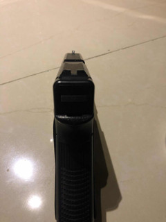 Pistola De Airsoft Spring Kwc Glock G17 Safe Action 200 Fps