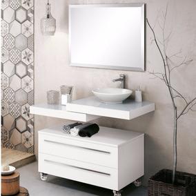 Gabinete Para Banheiro Com Espelho E Cuba Yes F