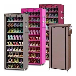 Closet Organizador De Zapatos 9 Pisos 30 Pares Con Funda