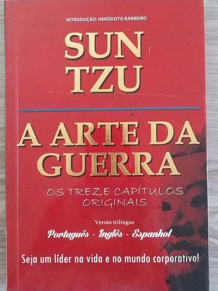 Arte Da Guerra Sun Tzu 3 Idiomas Em 1 Portug Inglês Espanhol