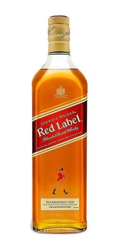 Imagen 1 de 8 de Whisky Johnnie Walker Etiqueta Roja 700 Ml.