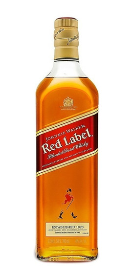 Whisky Johnnie Walker Etiqueta Roja 700 Ml.