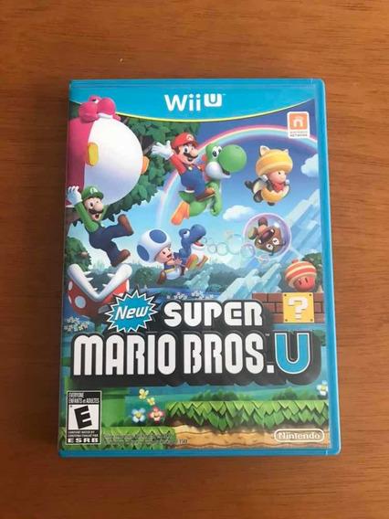 New Super Mario Bros Wii U Mídia Física Original Nintendo