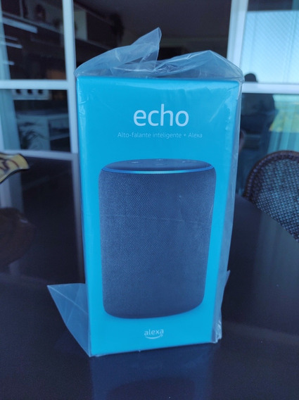 Amazon Echo - Caixa Bluetooth Inteligente (modelo Grande)