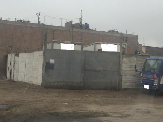 Venta De Terreno De 205m2 (esquina) En Oquendo Callao
