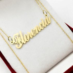 94a7eb3b84b2 Cadena Oro Singapur 45 Cm Con Tu Nombre Oro 18 K Mujer 15