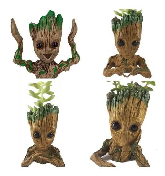 Baby Groot Vaso E Porta Objetos 4 Modelos 15cm