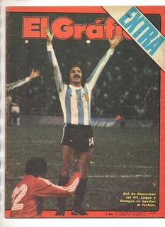 El Gráfico Extra-mundial Argentina 1978- Argentina 6 Peru 0