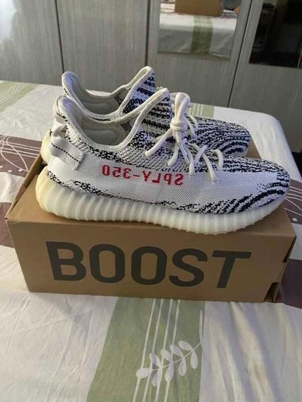 Tênis adidas Yeezy Boost V2 Zebra Original
