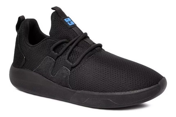 Tênis Hocks Skate Sneaker Galáctica Preto Azul Original