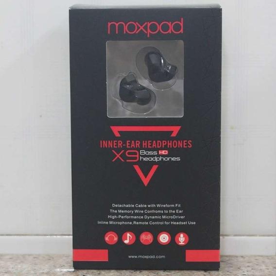 Fone Ouvido In Ear Retorno Palco Moxpad X9 Pro Dual Dynamic