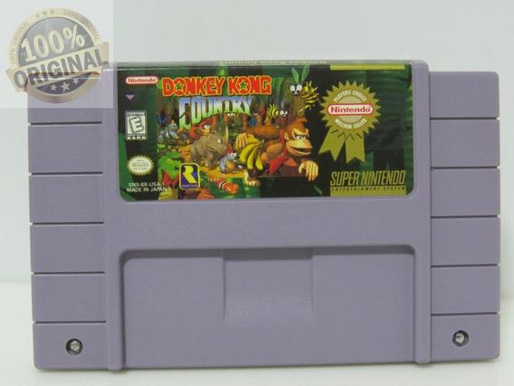 Cod 314 Donkey Kong Million Original Super Nintendo Snes