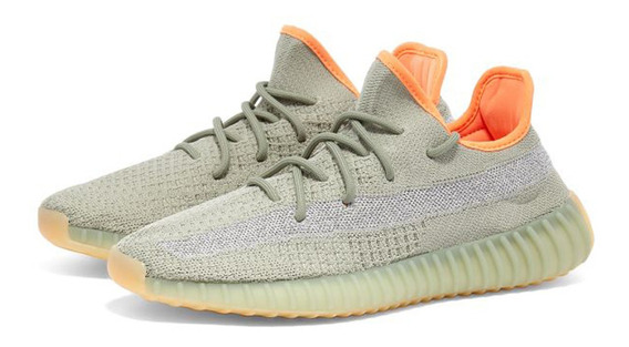Tenis adidas Yeezy 350 V2 Desert Sage Boost Kanye Casual