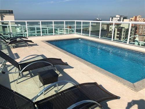 Apartamento 3 Dormitorios Com 3 Suites Na Cidade De Praia Grande - Ade151