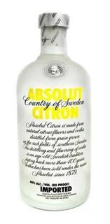 Vodka Absolut 200 Ml Citron Mini