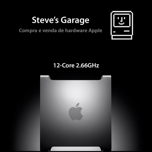 Mac Pro 12 Core 2.66ghz, 32gb Ram, 1tb Hd, Vídeo 2gb, Mojave