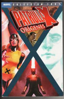 Coleccion 100% Marvel Patrulla X Origenes Tomo 2 Panini