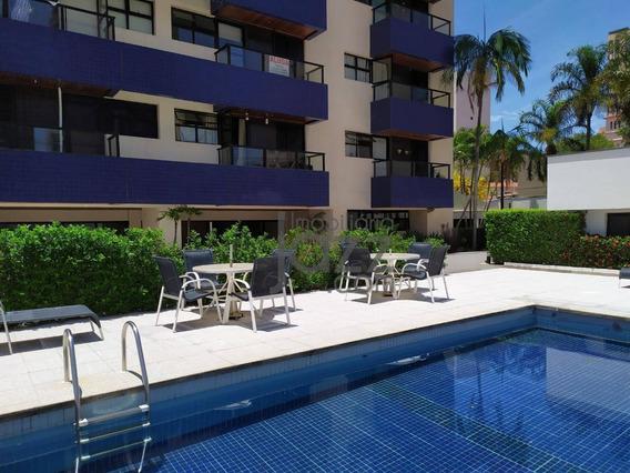 Apartamento Com 1 Quarto E Lavabo À Venda Por R$ 380.000 - Cambuí - Campinas/sp - Ap2375