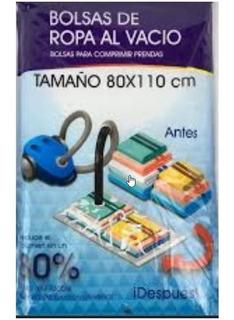 Bolsa De Ropa Al Vacio Hermetica 80x110cm Anti Humedad Bz3