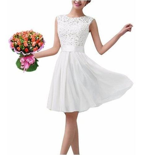 Vestido Noiva Casamento Civil Batizado Formatura Festa /19