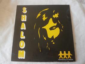 Lp Shalom Movimento De Irmãos, Disco De Vinil Com Encarte