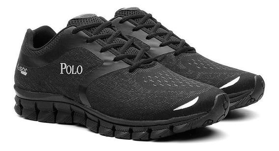 Tênis Polo Masculino Caminhada Esporte Corrida Conforto